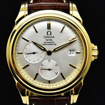 Omega De Ville Co-Axial Yellow gold 39mm White No numerals
