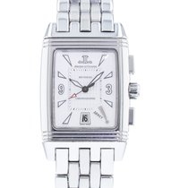 Jaeger-LeCoultre pre-owned Manual winding 28mm Silver Sapphire Glass