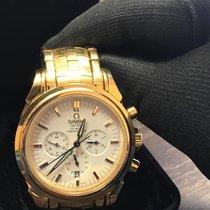 Золотые часы Omega мужские