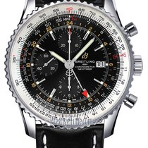 Breitling Navitimer GMT Steel 46mm Black United States of America, New York, Airmont