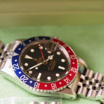 Rolex GMT-Master Steel 40mm Black No numerals United States of America, New Jersey, Palisades Park