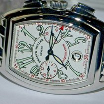 Franck Muller Conquistador Steel 41mm Silver Arabic numerals United States of America, New York, Greenvale