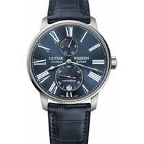 Ulysse Nardin Steel 42mm Automatic 1183-310/43 new