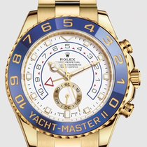 Rolex Yacht-Master II Yellow gold 44mm White No numerals United States of America, New Jersey, Totowa