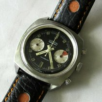Vulcain Vulcain Chronograph Valjoux 23 Vintage Reverse Panda Dial 1970 pre-owned