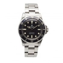 Rolex Submariner (No Date) Aço 40mm Preto