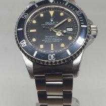 Rolex Sea-Dweller Acier 40mm Noir Sans chiffres France, koksijde