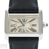 Cartier Tank Divan Steel 26mm Mother of pearl