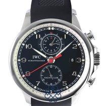 IWC Portuguese Yacht Club Chronograph IW3902-10 Очень хорошее Сталь Автоподзавод