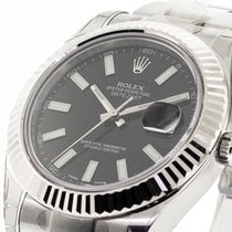 Rolex Datejust II Steel 41mm Black No numerals United States of America, Georgia, Atlanta