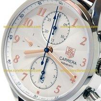 TAG Heuer Carrera Calibre 16 Steel 41mm Silver Arabic numerals