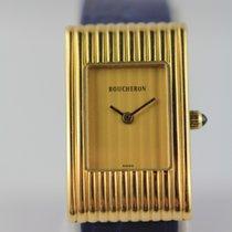 Boucheron 18mm Quarz gebraucht Reflet Gold