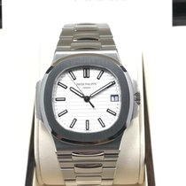 Patek Philippe 5711/1A-011 Stainless Steel Men Nautilus White...