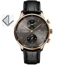 IWC Portugieser Chronograph Rose Gold - Iw371482