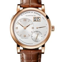 A. Lange & Söhne Lange 1 Rose gold 38mm Silver (solid)
