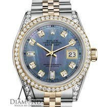 Rolex Datejust pre-owned 36mm Mother of pearl Date Yellow gold