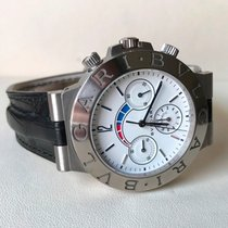 Bulgari Diagono Amplificator Chronograph White Gold 18 Krt ...