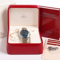 Omega Seamaster 300 M Chronograph Complete Set Box & UK...