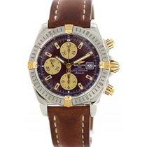Breitling Chronomat B13356 18k Yellow Gold & Stainless Steel
