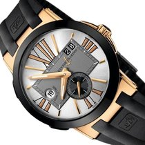 Ulysse Nardin Executive Dual Time Rose gold 43mm Silver United States of America, Florida, Sunny Isleas  Beach