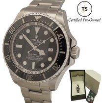 Rolex Sea-Dweller Deepsea Steel 44mm Black United States of America, New York, Huntington Village
