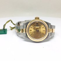 Rolex Lady-Datejust Gold/Steel 26mm Champagne No numerals United States of America, California, Stockton
