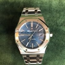 Audemars Piguet Royal Oak Selfwinding Stainless Steel Blue...