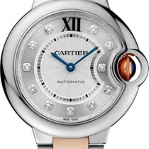 Cartier Ballon Bleu 33mm new Automatic Watch with original box and original papers WE902061