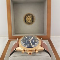Oris Carl Brashear Bronze 43mm Blue No numerals