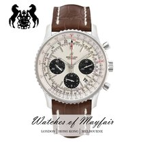 Breitling Navitimer 1 B01 Chronograph 43 Stål 43mm Sølv