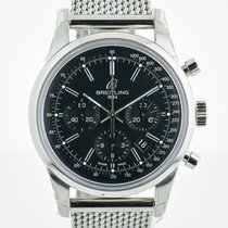 Breitling Transocean Chronograph Steel 43mm Black United States of America, California, Pleasant Hill