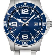 Longines new Automatic Luminescent Hands Rotating Bezel Screw-Down Crown Luminous indexes 41mm Steel Sapphire Glass