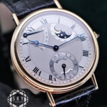 Breguet Yellow gold Automatic Silver Roman numerals 36mm pre-owned Classique