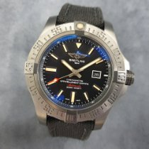 Breitling Avenger Blackbird pre-owned 48mm Black Textile