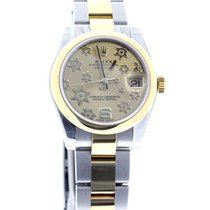936dd275832 Rolex Oyster Perpetual Mid size 31mm datejust yellow gold 178243