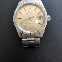 Rolex Oyster Perpetual Date Steel 34mm Silver No numerals Australia, Keppel Sands. Queensland