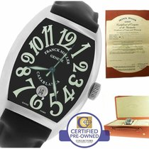 Franck Muller Casablanca Steel 37mm Black Arabic numerals United States of America, New York, Massapequa Park