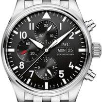 IWC IW377710 Steel Pilot Chronograph 43mm new United States of America, New York, New York