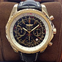 Breitling Bentley Motors Oro amarillo 48mm Negro Sin cifras