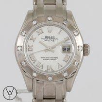 Rolex 80319 Weißgold 2007 Lady-Datejust Pearlmaster 29mm gebraucht Deutschland, München