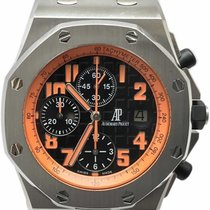 Audemars Piguet OO.D101CR.01 Steel Royal Oak Offshore Chronograph Volcano 42mm pre-owned United States of America, Florida, Naples