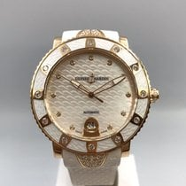 Ulysse Nardin Lady Diver Rose gold 40mm Mother of pearl