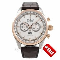 Zenith El Primero Gold/Steel 44mm Silver United States of America, California, Beverly Hills
