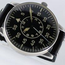 A. Lange & Söhne FL23883 Sehr gut Stahl 55mm Handaufzug