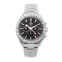 Omega Speedmaster Broad Arrow Acero 44.2mm Negro Sin cifras