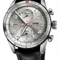 Oris Audi Sport new Automatic Chronograph Watch with original box and original papers 01 774 7661 7481