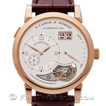 A. Lange & Söhne Red gold Manual winding Roman numerals 38.5mm pre-owned Lange 1
