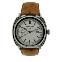 JeanRichard 1681 Staal 44mm Wit Arabisch