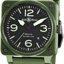 Bell & Ross BR 03 nuevo Automático Reloj con estuche original BR03-92MLTRYCRM