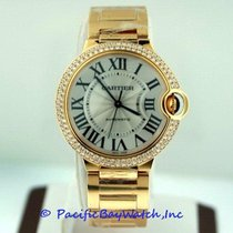 Cartier Ballon Bleu 36mm new Automatic Watch with original box and original papers WE9004Z3